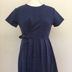 ZARA Girls Navy Dress, size 13/14
